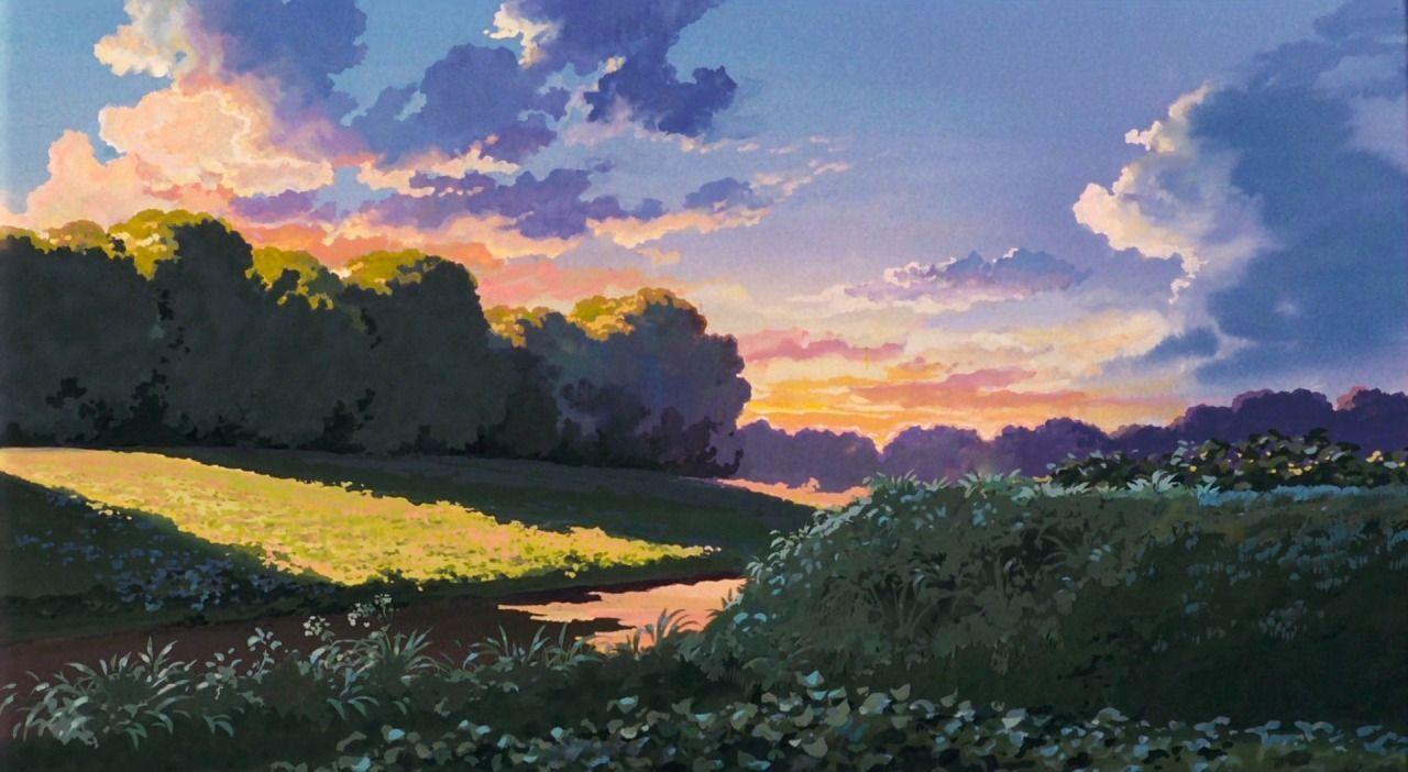 Ghibli scenery