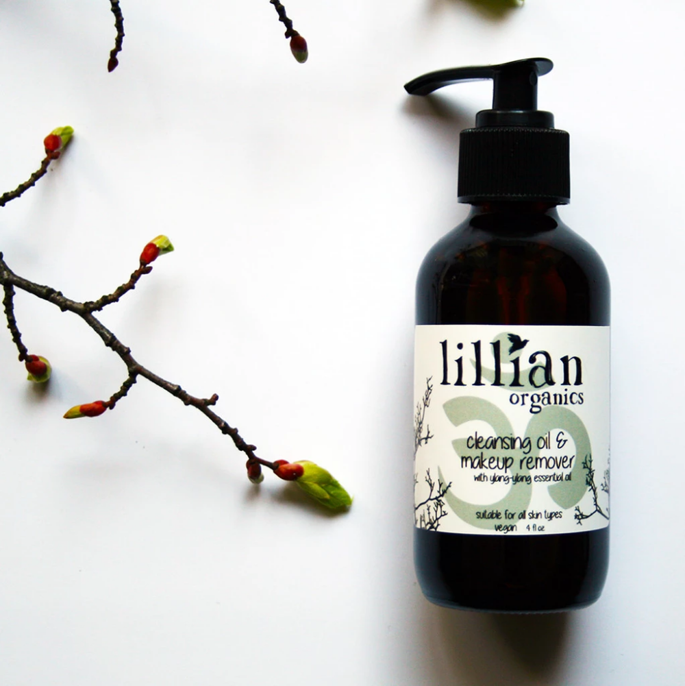 cleansing oil & makeup remover vegan plant based