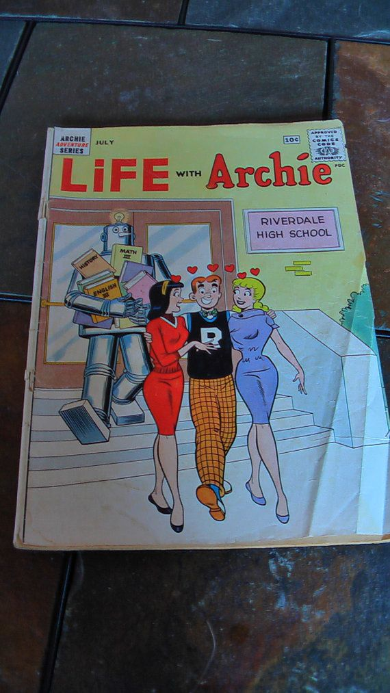 Hey, I found this really awesome Etsy listing at https://www.etsy.com/listing/189383033/vintage-life-with-archie-comic-book