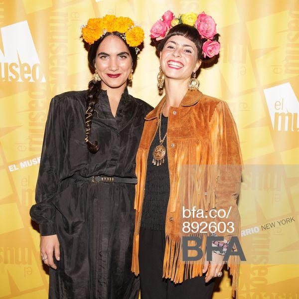 Kyra Caruso, Sofia Reeser at EL MUSEO DEL BARRIO'S Dia de los Muertos Party. #BFAnyc