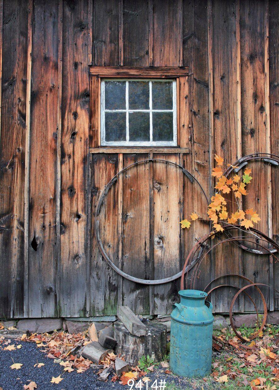 مولعا Foto خلفية الخلفيات استوديو الصور Vinyle الخريف الخشب نافذة التصوير الخلفيات اشتر من جهات البيع Studio Backdrops Background For Photography Vintage Door