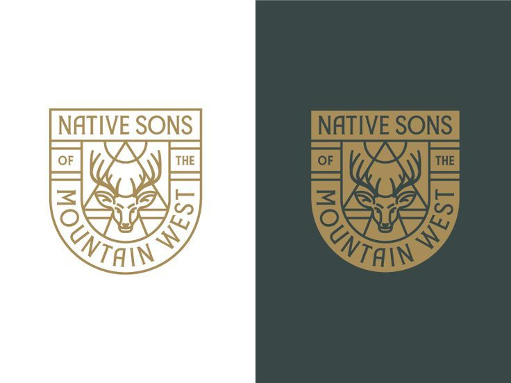50 Beautiful Badge Designs | From up North