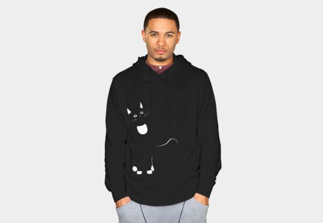 Curious Cat Sweatshirt - Design By Humans