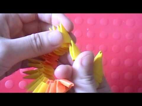 3d Origami Koi Fish Crafts Origami Tutorials Pinterest 3d
