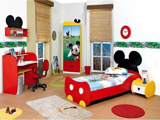 Beroemd Mickey Mouse | Ela Meubelen - Mickey mouse bedroom, Modern Kids SJ97