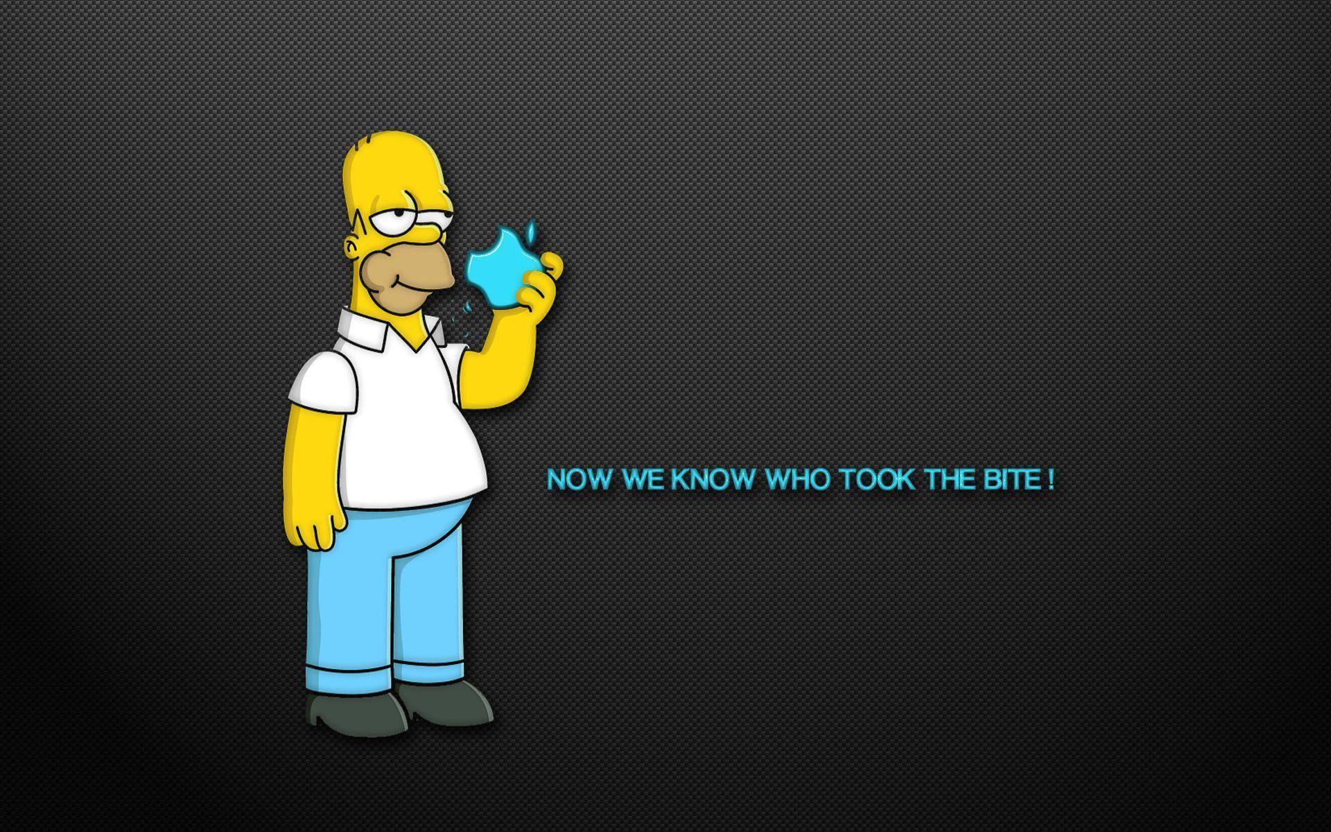 Homer Simpson Iphone Wallpaper