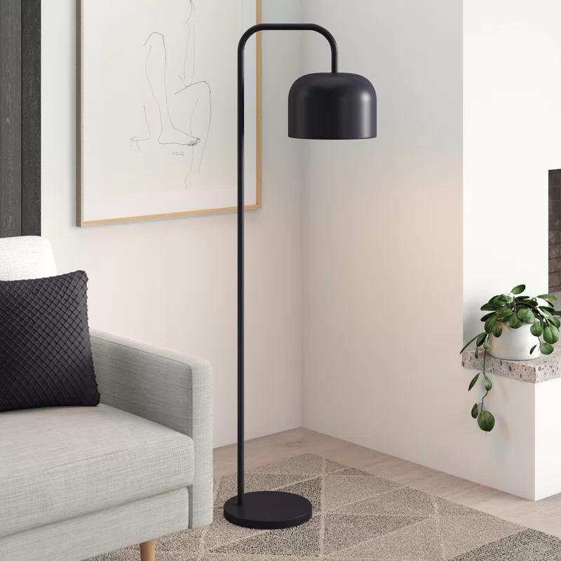 Barkley 60 Arc Floor Lamp Reviews Allmodern In 2020 Black Floor Lamp Arc Floor Lamps Modern Floor Lamps