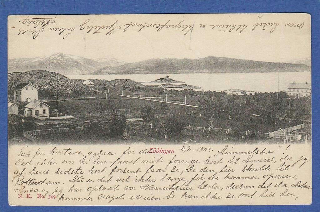 Lödingen i Nordland 1903