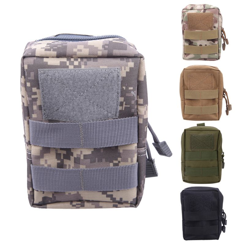 Tactical Molle Sac Ceinture Taille Pack Sac Militaire Taille Fanny Pack Poche Pour Téléphone