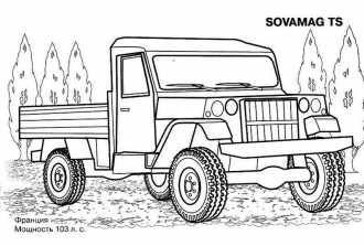 военные грузовики скачать раскраску машин 23 детские
