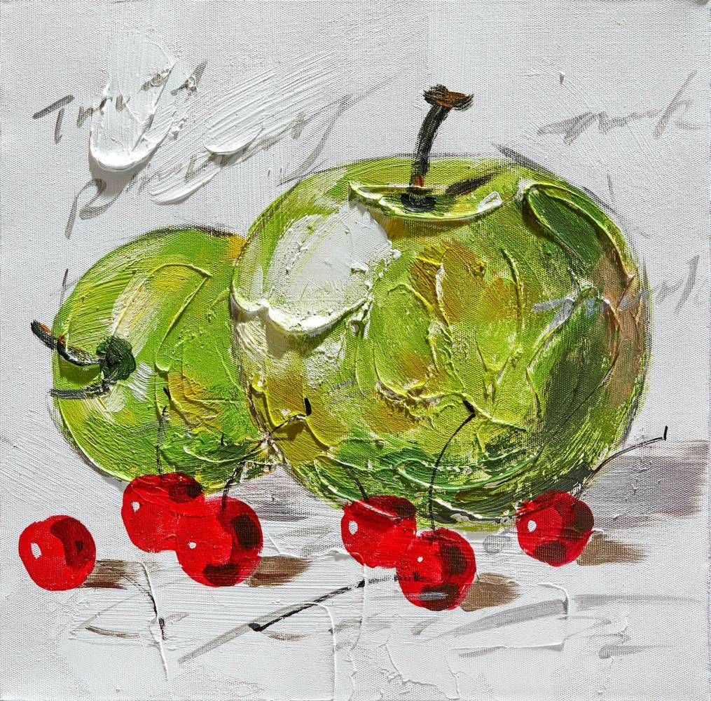 Dipinto art. w549 30x30 - Original paintings, Nature, Art ...