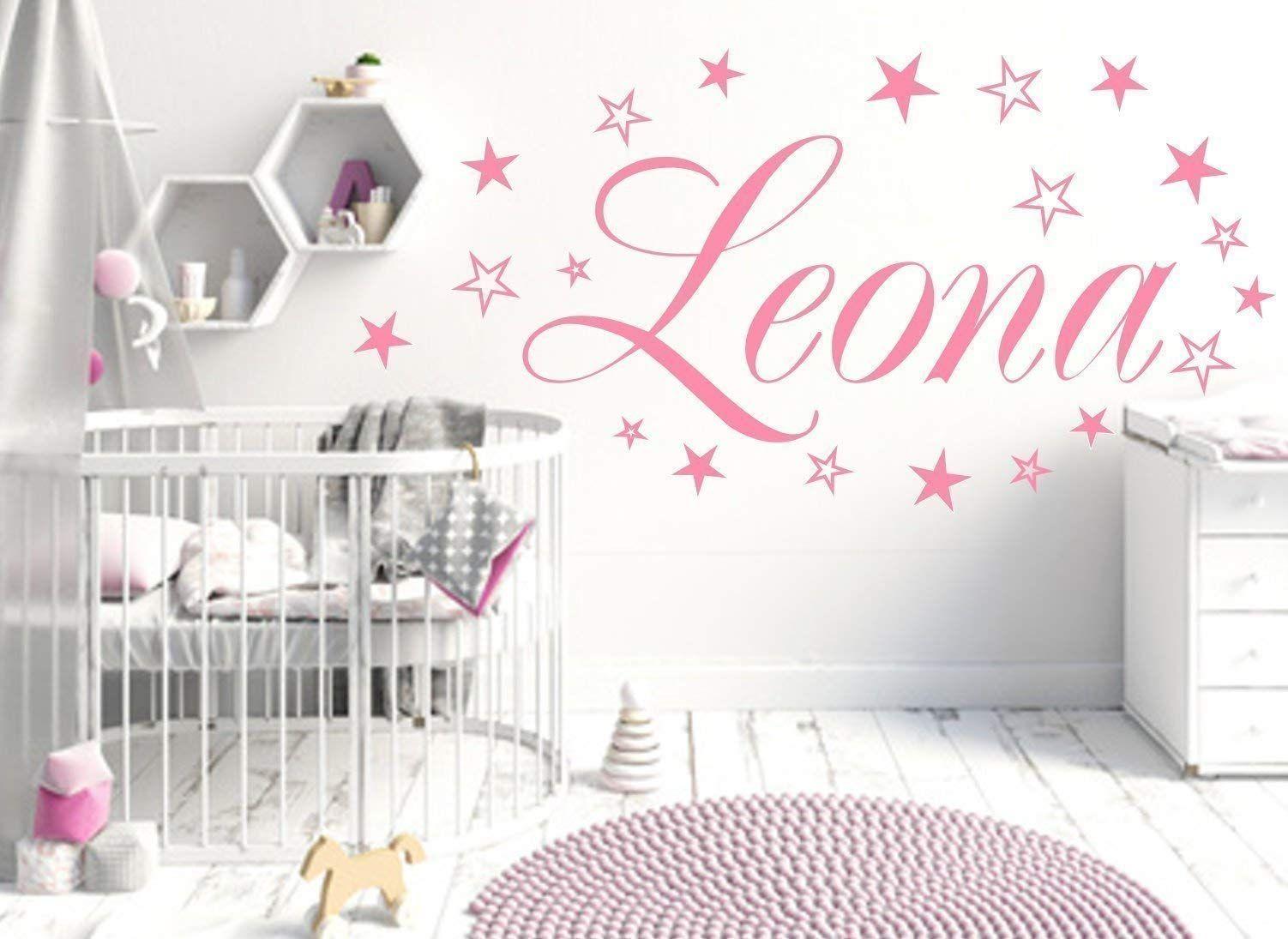 Wandtattoos Wandbilder Schmetterlingen Sternen Baby Persoalisiert Wandtattoo Kinderzimmer Namen M Mobel Wohnen Elin Pens Ac Id