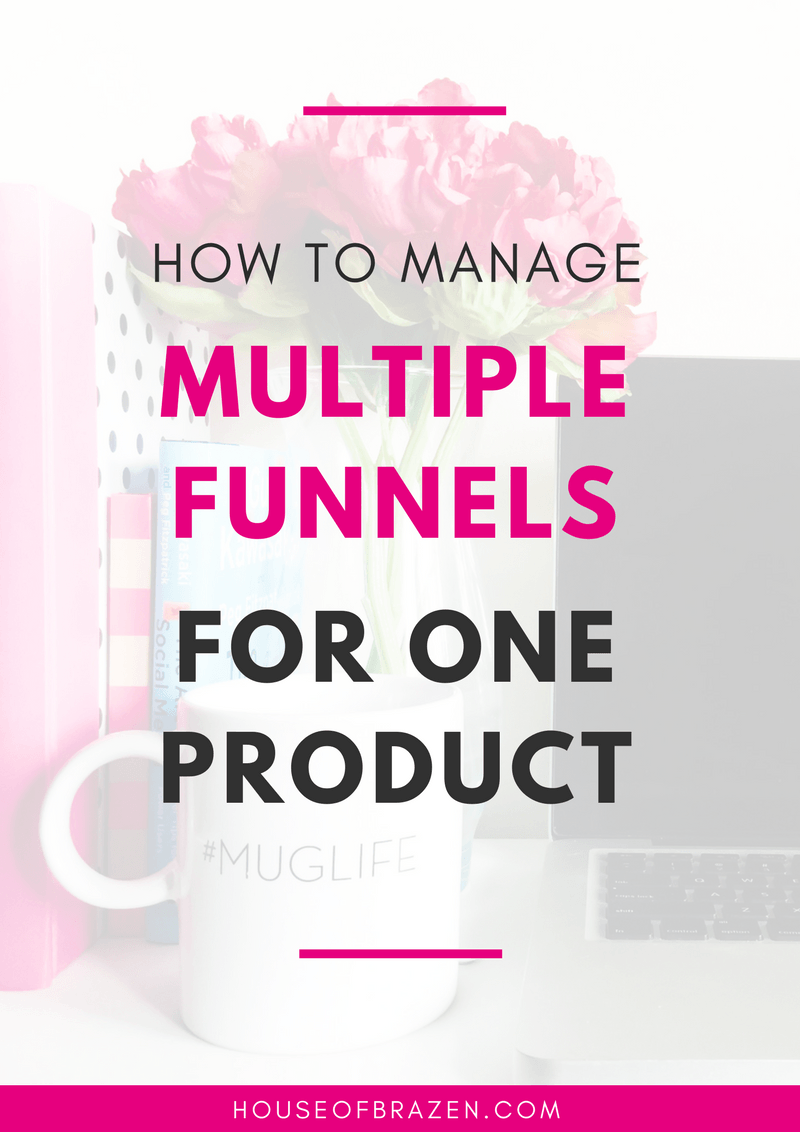 How To Manage Multiple Sales Funnels For One Product Lead Magnet