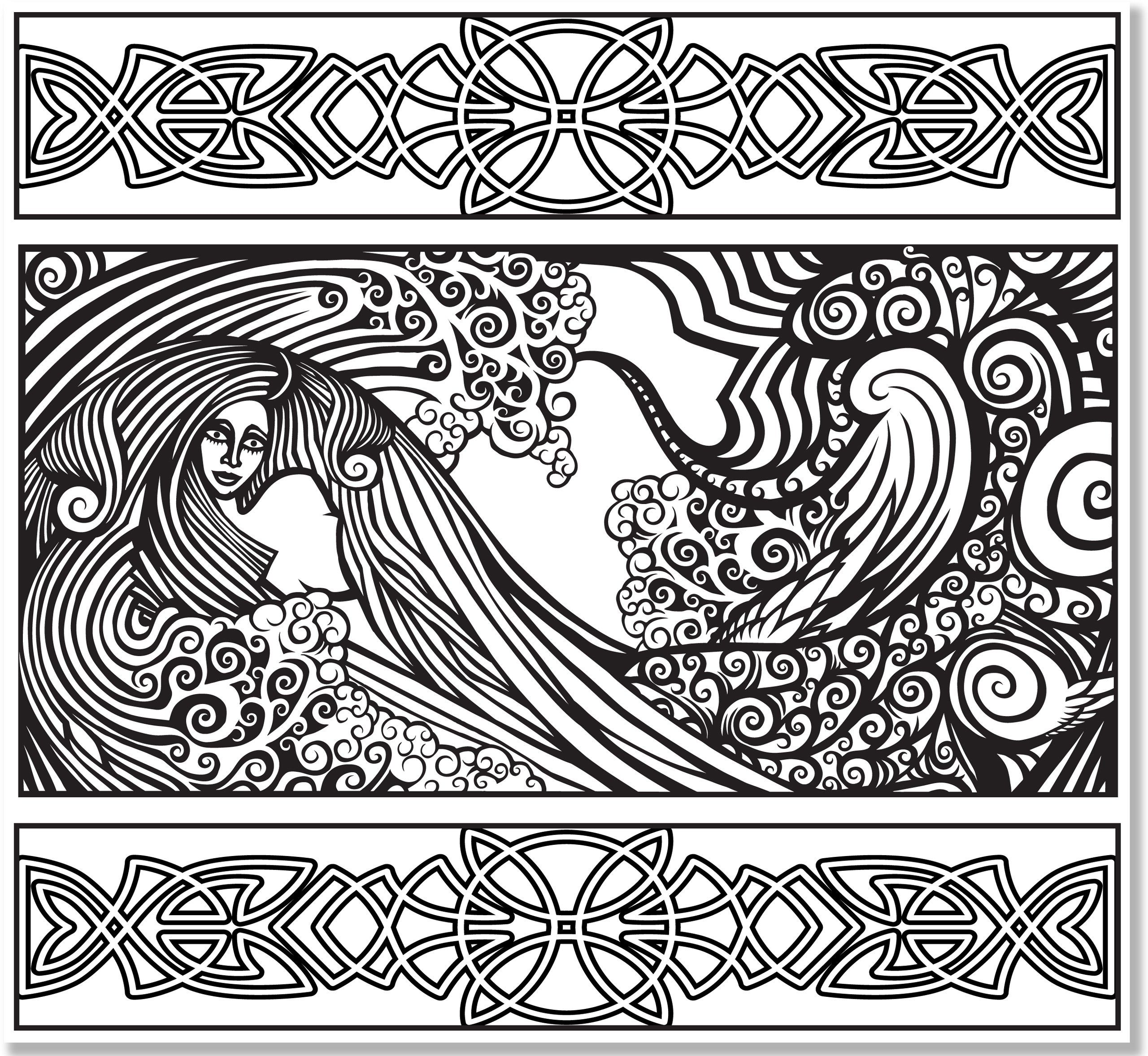 Amazon Celtic Designs Adult Coloring Book 31 Stress Relieving