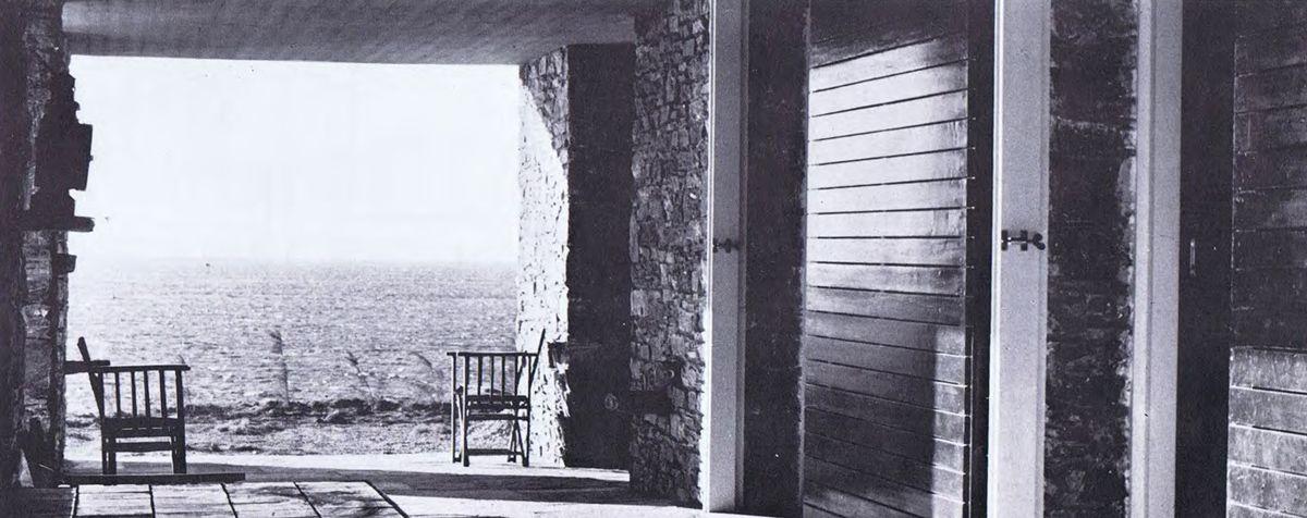 Aris Konstantinidis > Week-end House. Anavissos, 1962