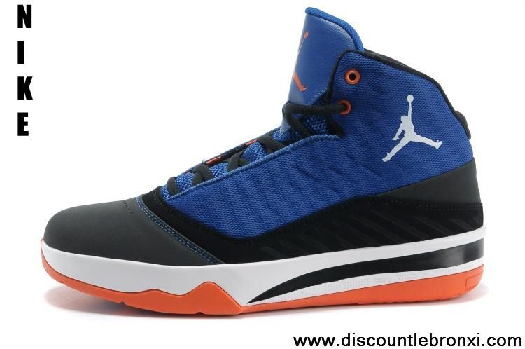 Wholesale Cheap Black/White-Game Royal-Team Orange Jordan B\u0027Mo 580590