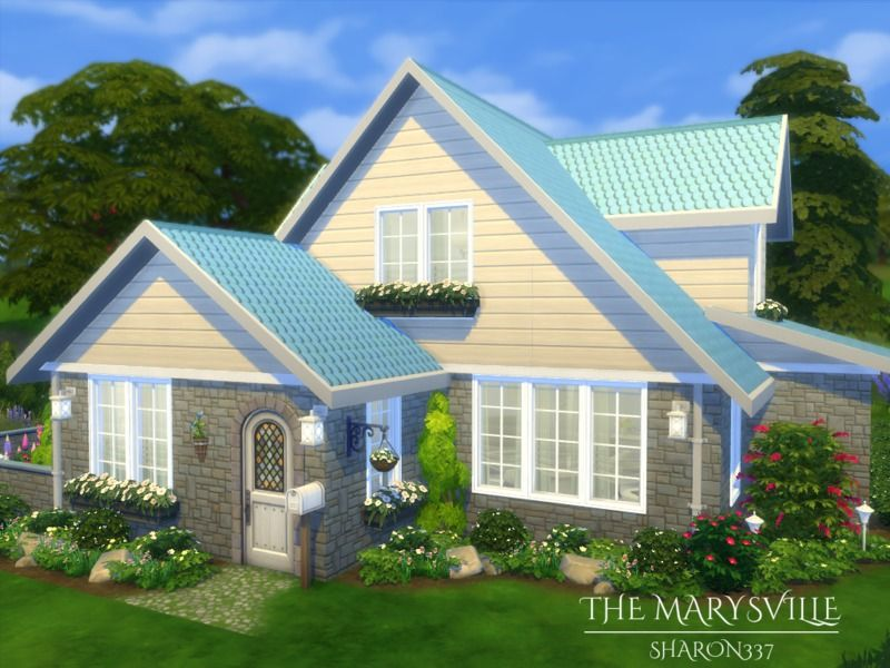 the marysville is a family home built on a 20 x 20 lot found in tsr