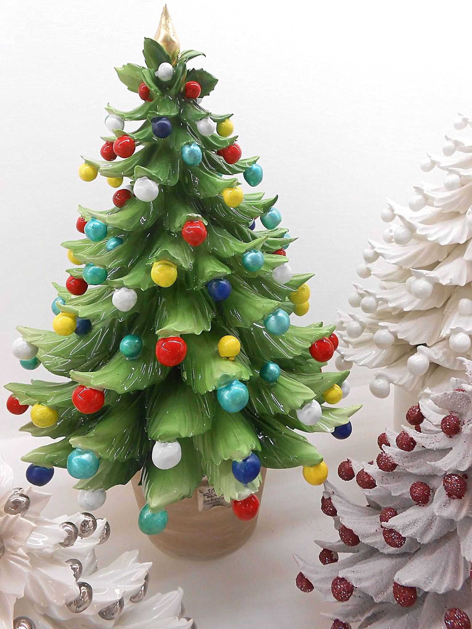 Alberelli Di Natale.Alberi Natalizi Abeti Alberi Di Natale In Porcellana Di