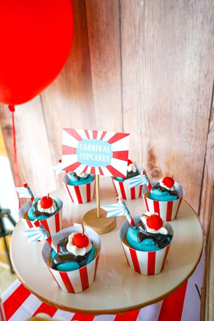 Backyard Carnival Party | Kara's Party Ideas | Carnival ...
