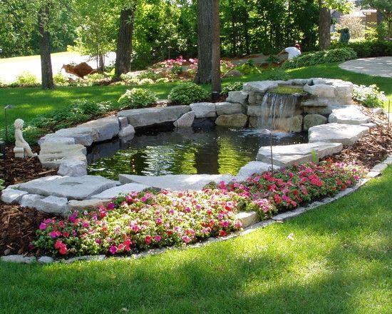 Teich Garten Pflegen Tipps Tricks Blumenrand Gabi 1 Cascada Del