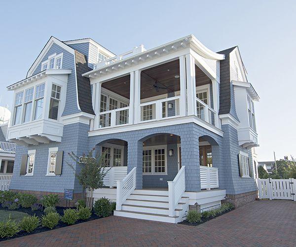 my favorite jersey shore beach town part 2 dream beach house rh pinterest com Beach Houses in Stone Harbor Beach Houses in Stone Harbor