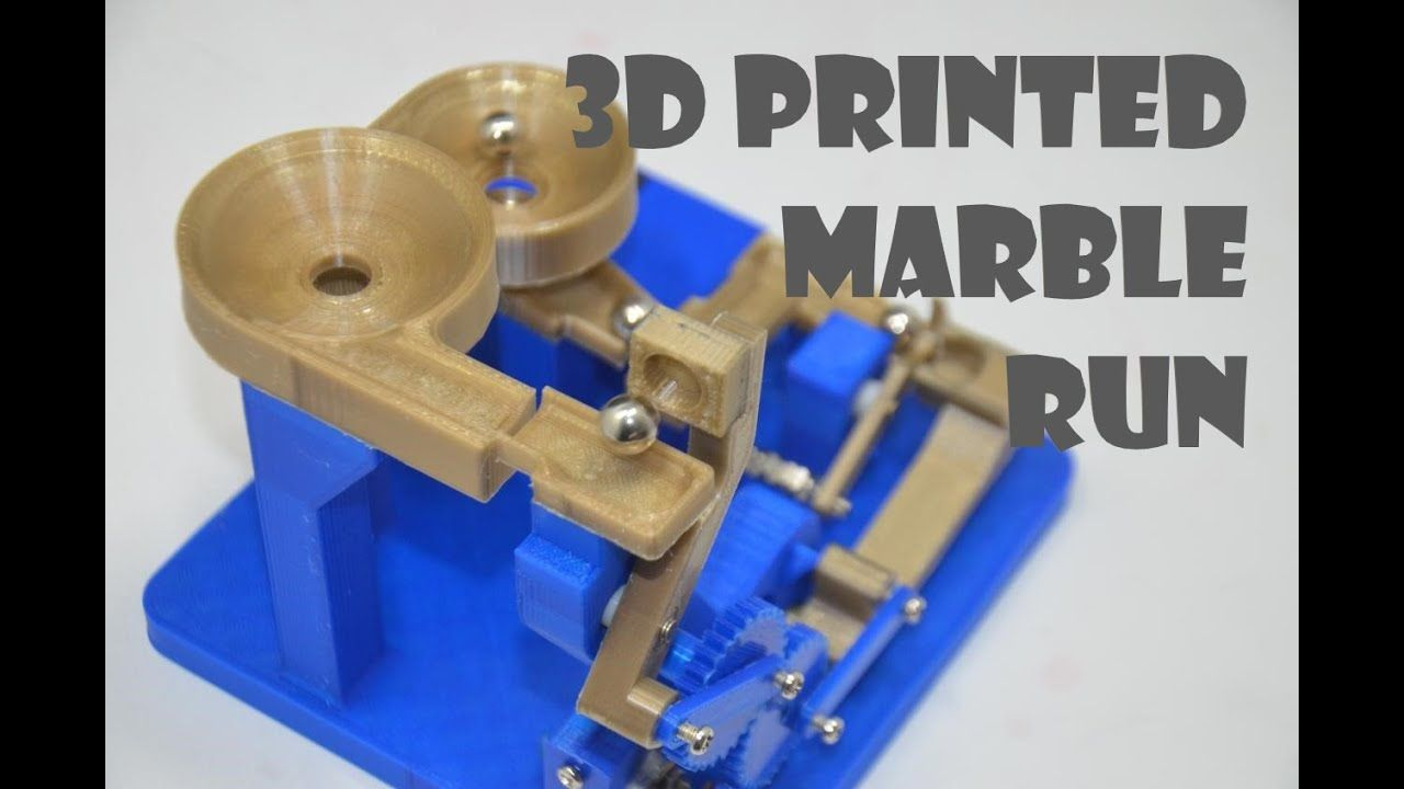 10mm Marbles Double Arm Marble Run Build Instructions Marble Run Marble Machine Marble