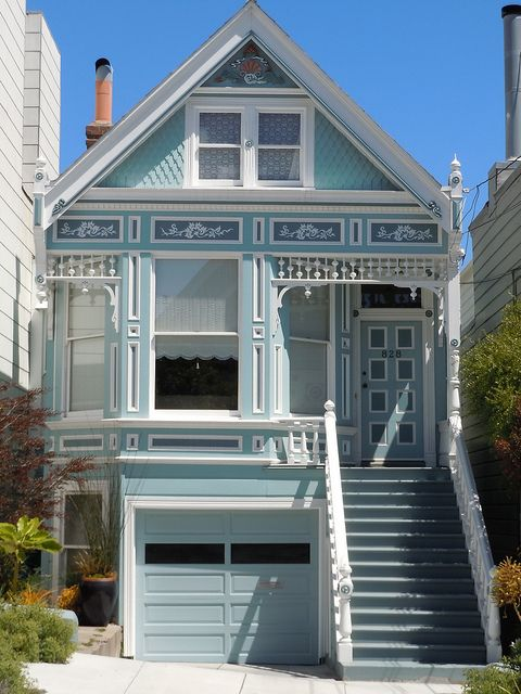 Queen Anne Style San Francisco Victorian Homes Queen Anne House Exterior