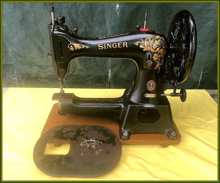 Rare Antique Singer Model 40k40 Free Arm Industrial Leather Custom 1951 Singer Sewing Machine Ebay
