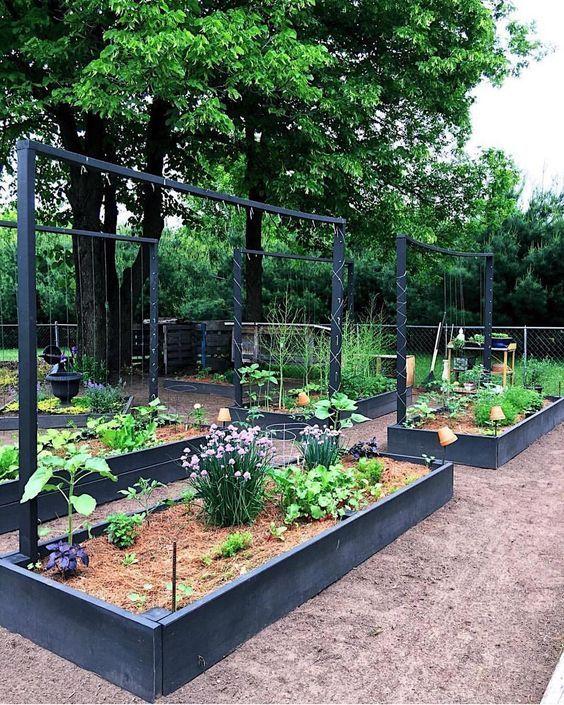 How to Make a Simple Garden Planter Box -   16 garden design Inspiration building ideas