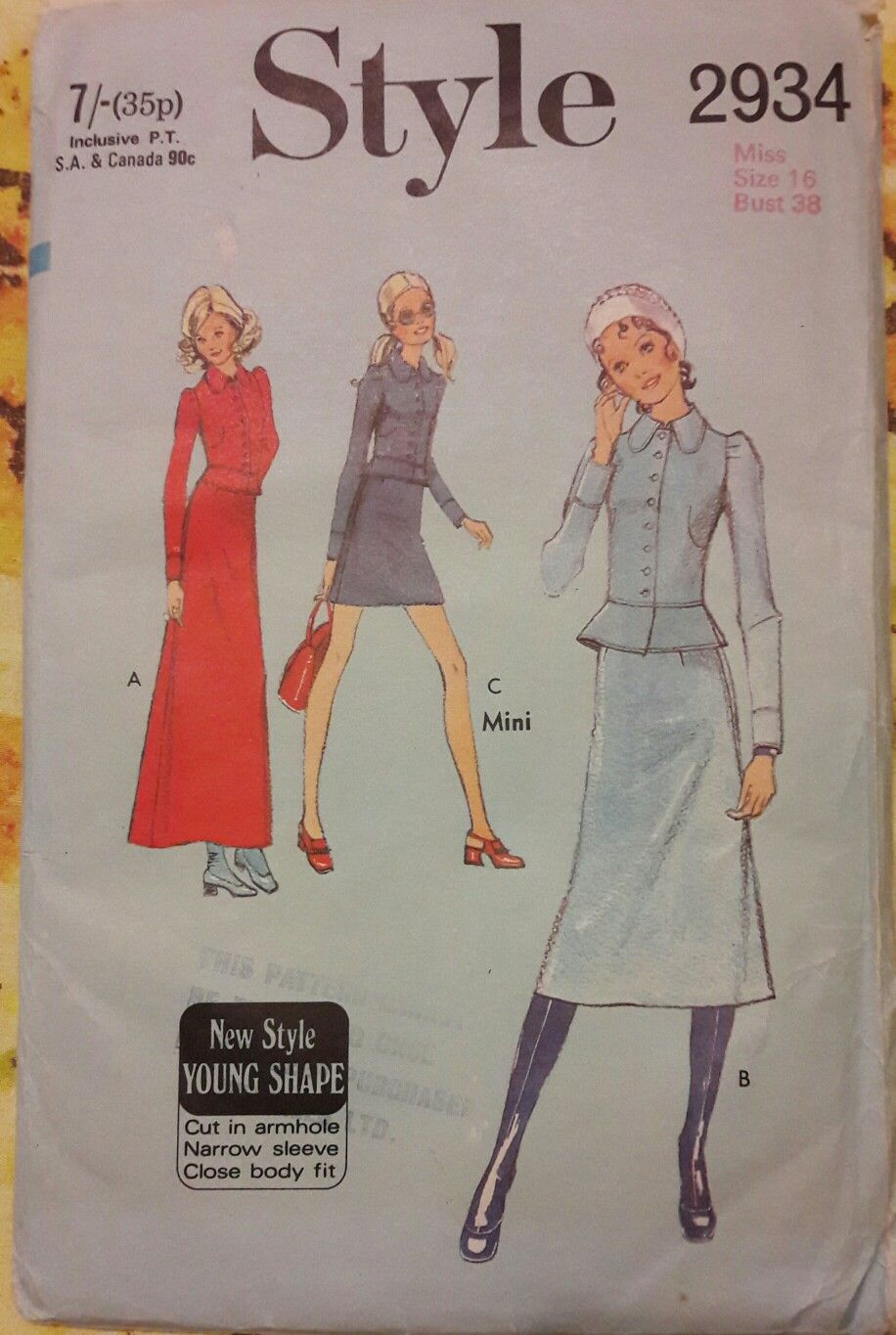 Style size craft my sewing pattern stash pinterest