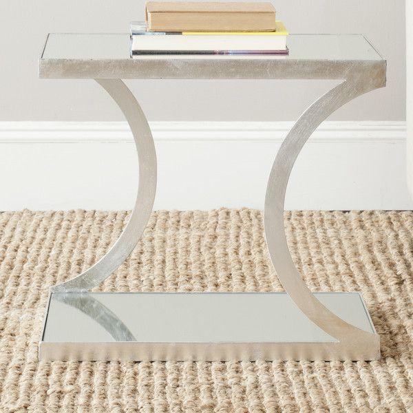 Sutton Mirrored End Table | Joss & Main