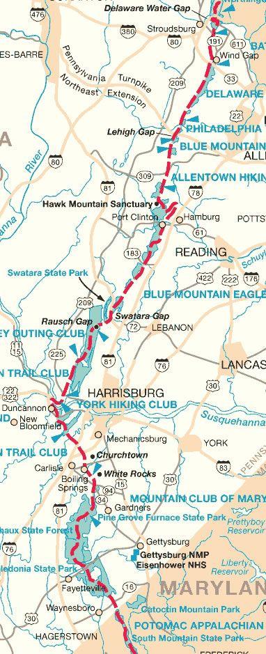 Hike on the Appalachian Trail : I did near Port Clinton ...