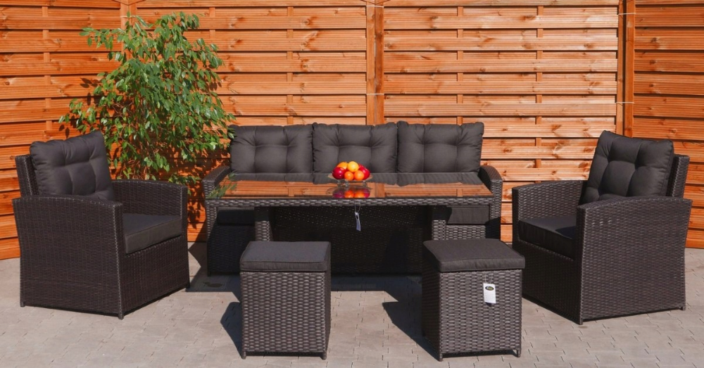 Meble Ogrodowe Technorattan Sofa Pufy Fotele Lawa 8930840334 Oficjalne Archiwum Allegro Outdoor Furniture Sets Furniture Outdoor Furniture