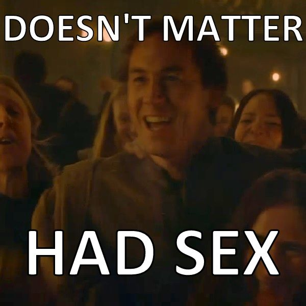 Edmure can't complain