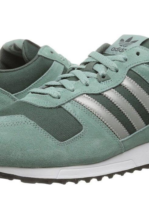 3cec7cb318f9f9 adidas Originals ZX 700 Mesh (Vapour Steel Silver Metallic Utility Ivy)  Men s Running Shoes