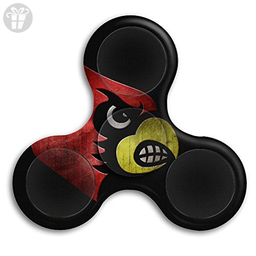 Louisville Cardinals Tri Spinner Fid Toy Hand Spinner High Speed