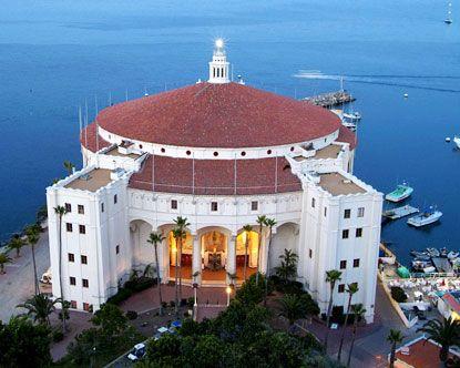 Catalina Island Casino - Art Deco.   Architectural Delights ...
