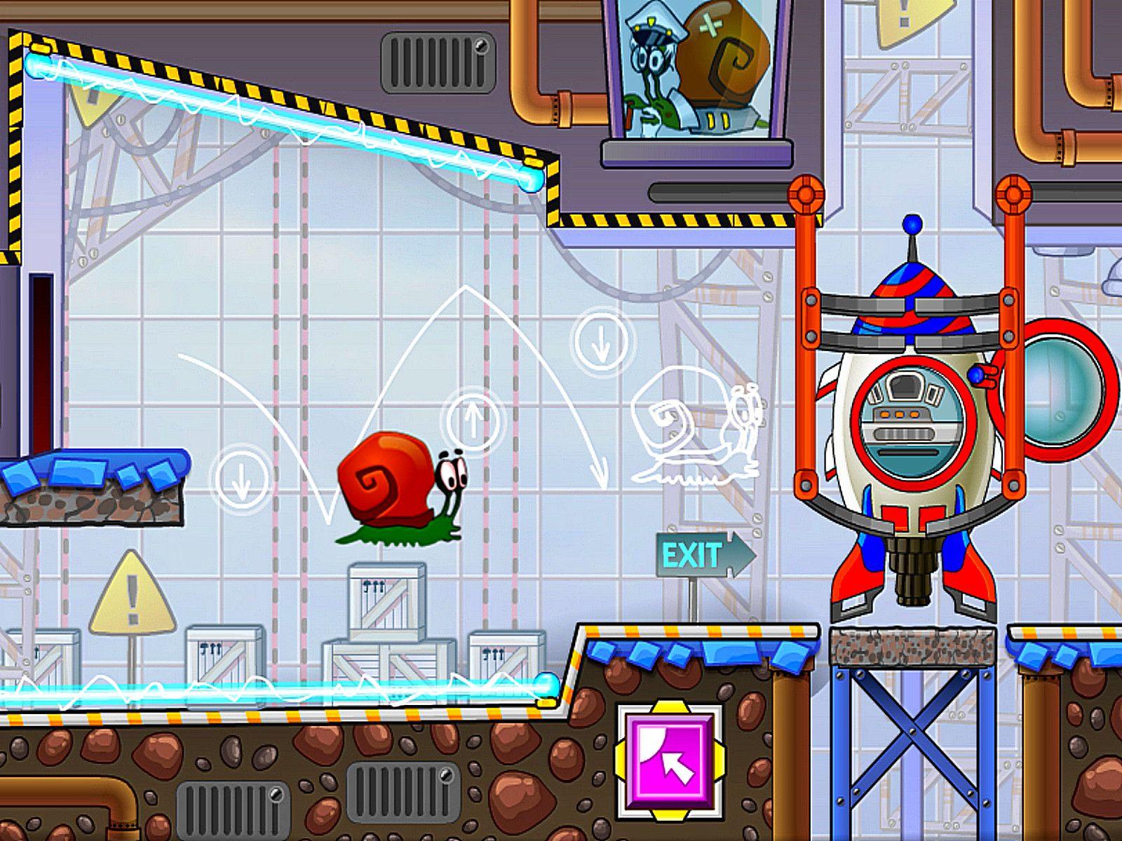 Snail Bob 4 Space Space games, Platform game, Plus games
