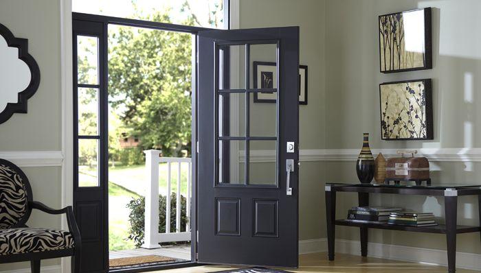 the latest 12074 6a57b Paint a Wooden Front Door | Bachelorette Pad | Double front ...