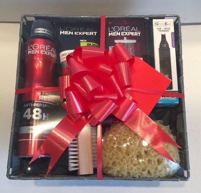 Gift Ideas For Him Birthday Thank You Basket Pamper Hamper Present Men