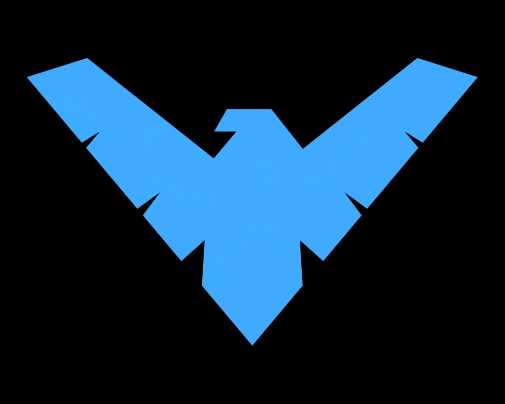 Nightwing decal make a shirt for g for my boys pinterest nightwing symbol whos excited for the new batman buycottarizona Choice Image