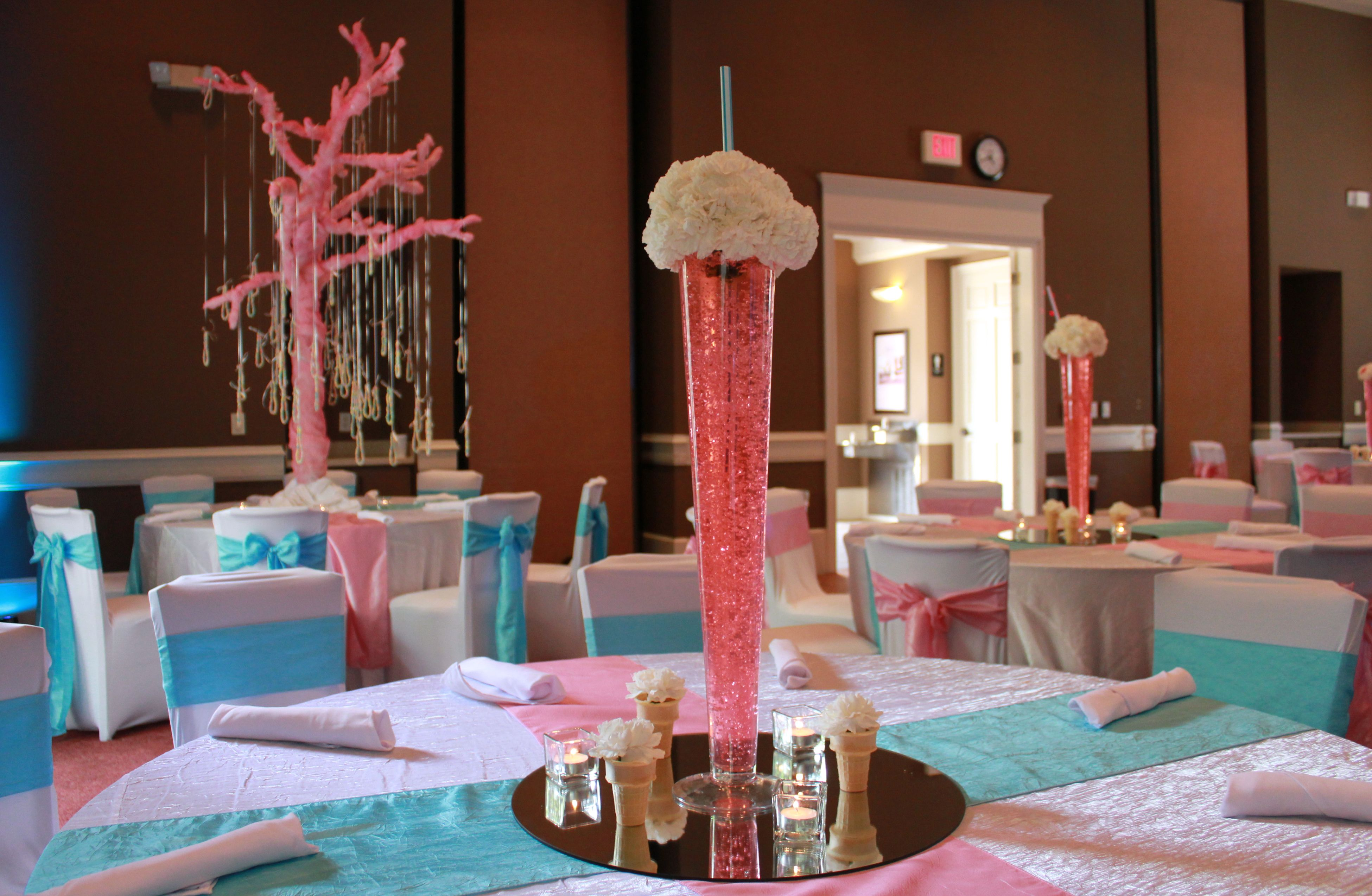 Cotton candy theme · Table CenterpiecesCenterpiece IdeasCandy ... & Cotton candy theme | |Quiñce decorations/Ideas| | Pinterest | Candy ...