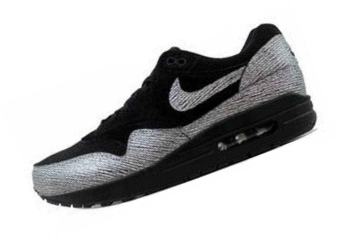 promo code 89365 26354 Nike Air Max 1 Premium Black Metallic Hematite-Black 454746-005 Womens