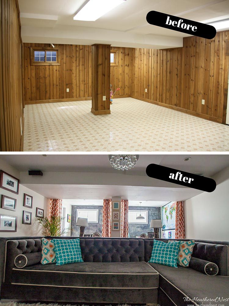 Full of budget friendly basement ideas and design love these from heatherednest also unique living room decoration pinterest rh