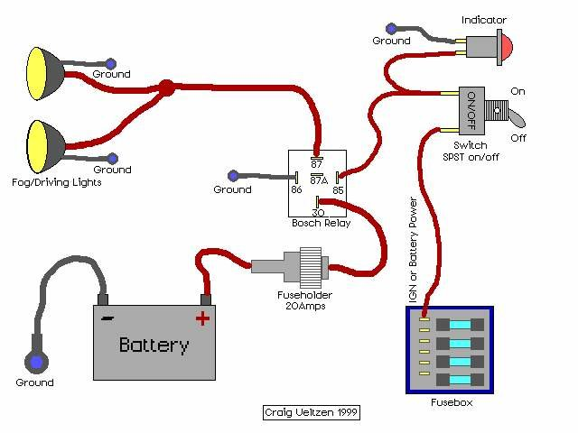 what 12v wire for hellas | Motorcycle wiring, Automotive electrical,  Automotive repair | Motorcycle Fog Lights Wiring Diagram |  | Pinterest
