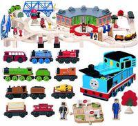 Thomas Wooden Railway Roundhouse Deluxe Set In Thomas Storage Box Seat Wooden Toy Boxes Round House Wooden