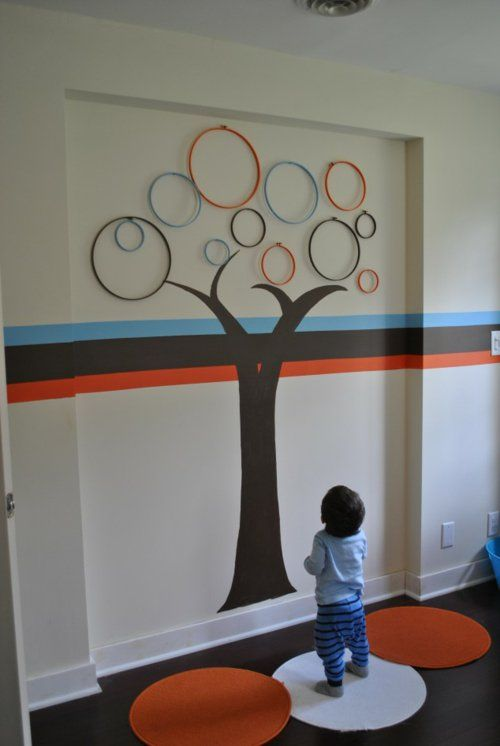 Innovative Wanddekoration selber machen - DIY Wandkunst