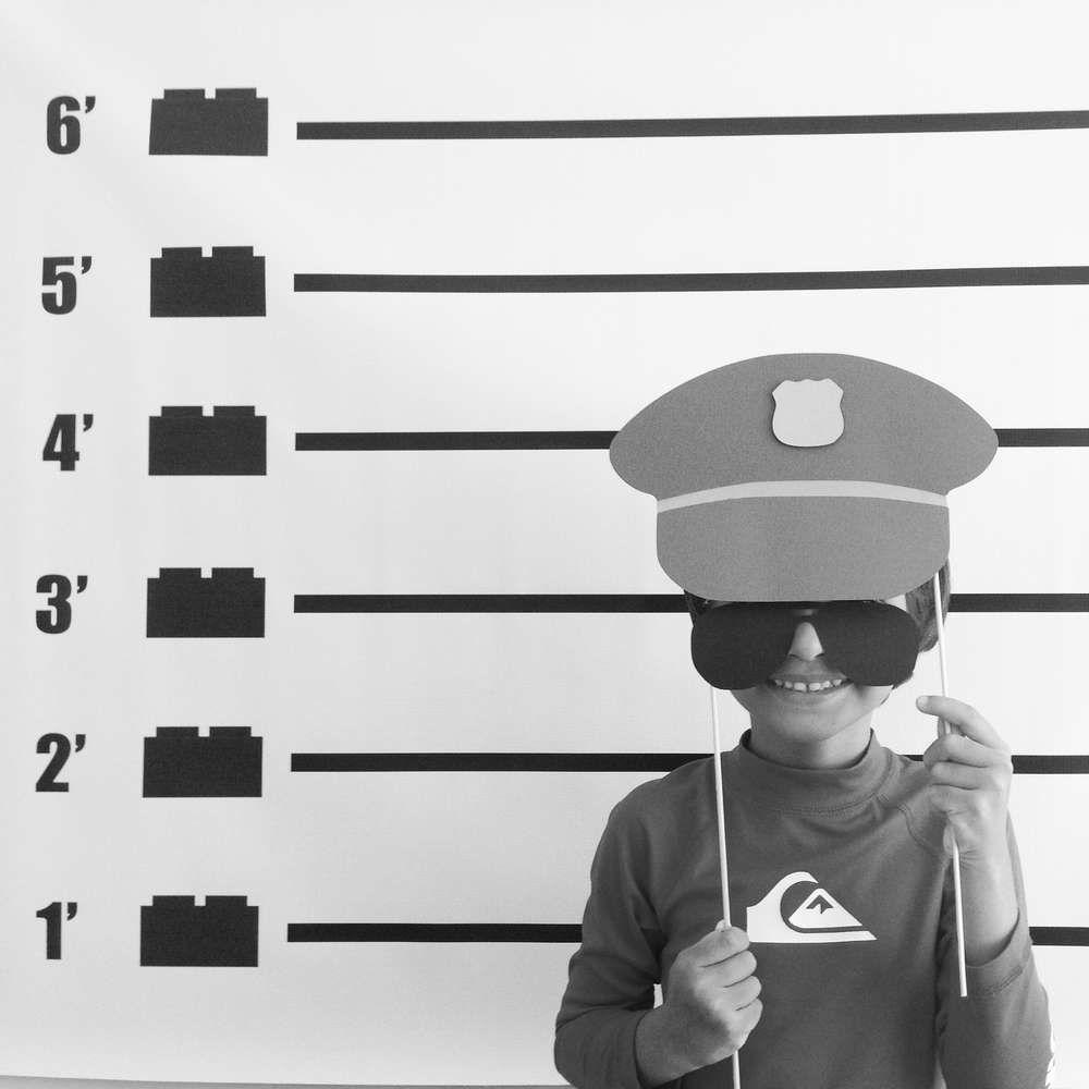 LEGO City / Police Birthday Party Ideas | Fotos divertidas ...