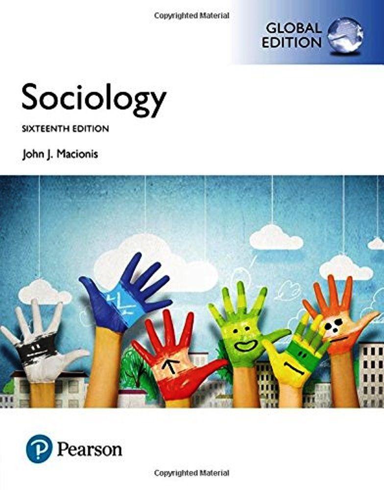 Sociology 16th Edition Global Edition ISBN 10