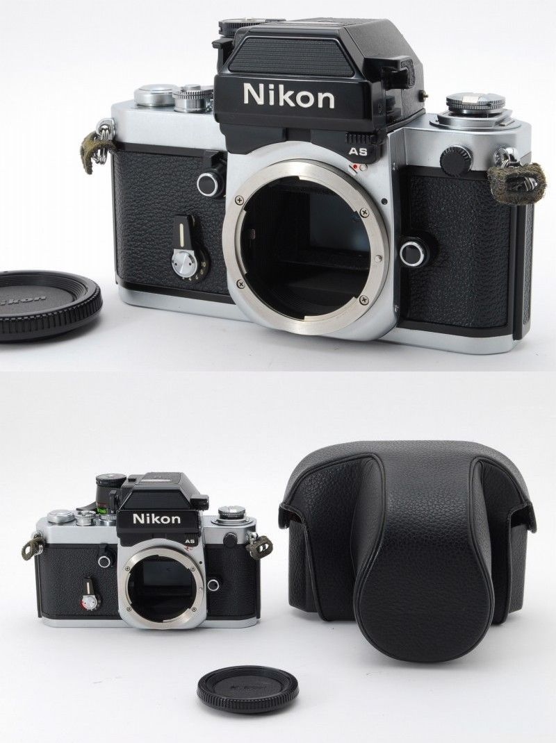 Nikon F2 AS Photomic Silver DP 12 35mm SLR Film Camer ; US $599.99 ...